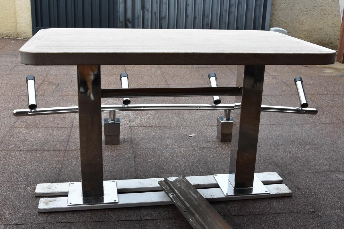 Réalisation d'une Table et d'un Porte-canne Solenox